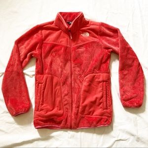 Girls The North Face Jacket Coral Size 18